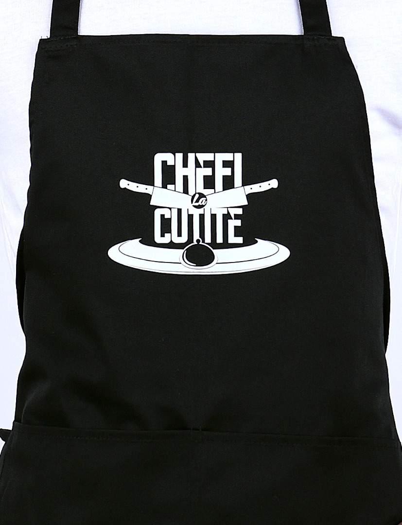 Set complet textile premium pentru bucatarie Chefi la Cutite