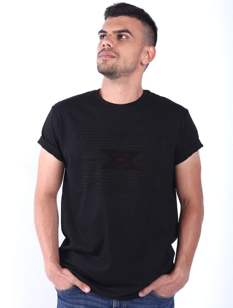 Tricou barbati negru XFactor