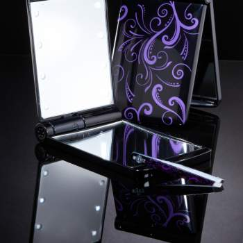 Oglindă compactă cu led-uri Light UP Mirror