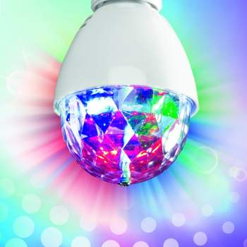 Bec cu efect de iluminare disco Party Led