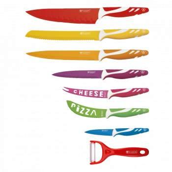Set 8 cuțite cu înveliș ceramic ReTaste