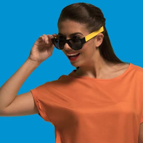 Set Clix Sunglasses Galben
