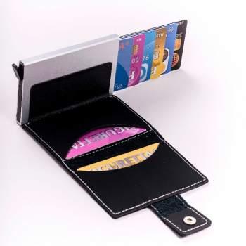 Organizator cu protecție pentru carduri Figuretta Card Protector