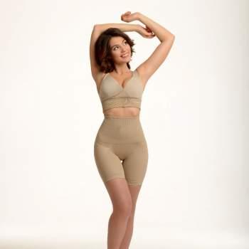 SANKOM, pantaloni scurți modelatori cu talie înaltă