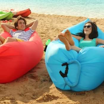 Saltea gonflabilă fără pompă Air Chair