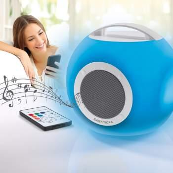 Boxă portabilă cu lumini LED, Music Box