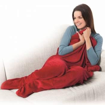 Pătură cu buzunare pentru picioare Warm Feet