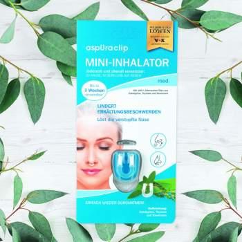Mini inhalator cu uleiuri esențiale aspUraclip Med
