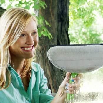 Aparat de curățat geamuri cu pulverizator Max Window Cleaner