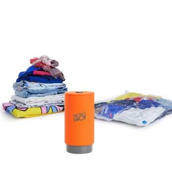 Mini-dispozitiv vidare haine, 4 saci haine incluși, Vac Pack Go