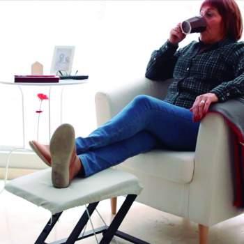 Scaun pliabil pentru picioare Foldable Footrest