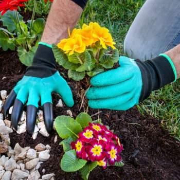 Mănuși de grădinărit cu degete, tip greblă, ReLax