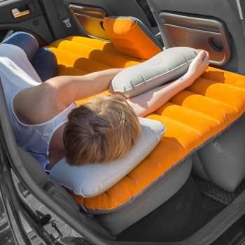 Saltea auto pentru dormit, cu 2 perne + pompă, Travel Bed