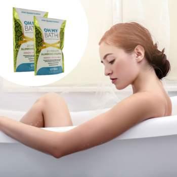 Set săruri de baie cu efect de slăbire, 2 bucăți, Slimming Bath