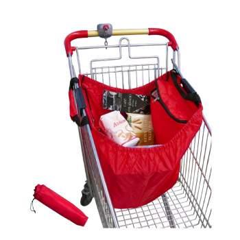 Sacoșă termoizolantă pliabilă cu suport pentru cărucior cumpărături ReLax