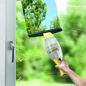 Aparat de spălat geamuri cu funcție de aspirare, 3 in 1 Vacuum Window Cleaner