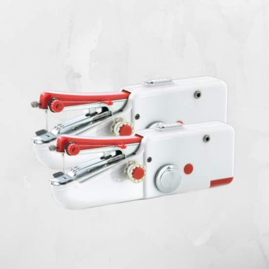 Set 2 bucăți Mini Mașini de cusut portabile ReLax