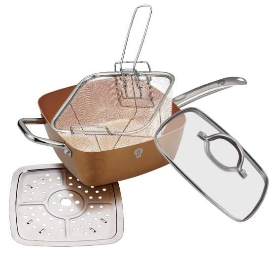 NonStick Deep Frying Pan