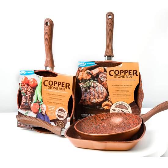 Set Regis Stone Copper HomeGrill