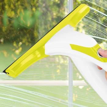 Aparat de spălat geamuri, cu funcție de aspirare, Kinzo Window Cleaner