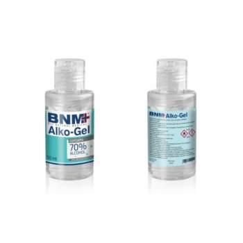 Gel dezinfectant pentru mâini, 70% Alcool, 50 ml Sanitizing Alko-Gel BNM+