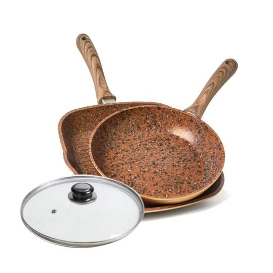 Set Regis Stone Copper MaxiGrill