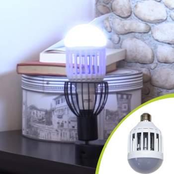 Lampă 2 în 1 antiinsecte cu lumina UV, Killer Lamp