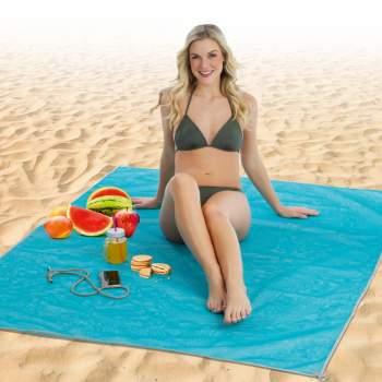 Pătură de plajă anti nisip, 150 x 200 cm, Sand Free Mat