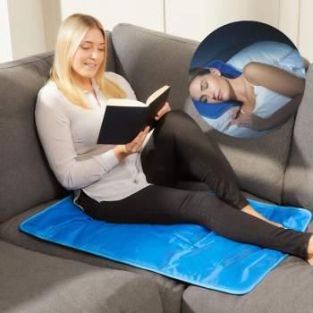 Set pernă și saltea cu gel răcoritor pentru confort maxim Chillmax Pillow & Mat