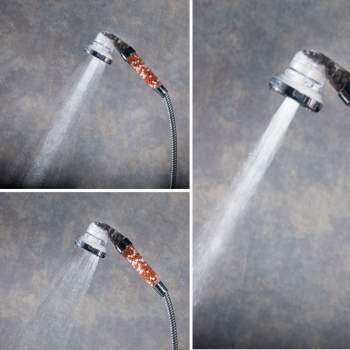 Cap de duș cu granule minerale pentru filtrare și presiune apă, Ultimate Shower