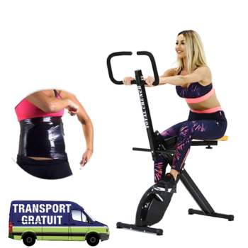 Aparat și bicicletă de fitness Total Crunch Evolution + folie osmotică