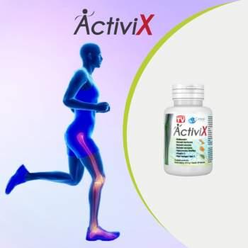 Supliment alimentar pentru articulații pe bază de curcuma, ActiviX