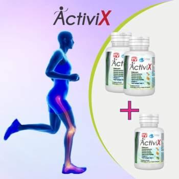 Set 2+1 GRATUIT, Supliment alimentar pentru articulații pe bază de curcuma, ActiviX