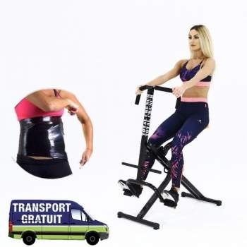 Aparat de fitness Total Crunch + folie osmotică