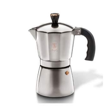Espressor cafea pentru aragaz ReTaste, argintiu