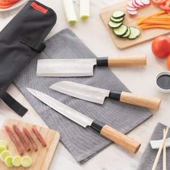 Set cuțite japoneze cu husă profesională, Japanese Knife
