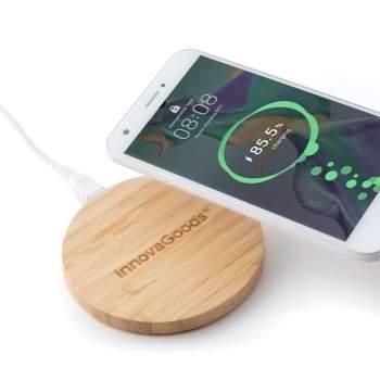 Încărcător wireless din bambus, Bamboo Charger