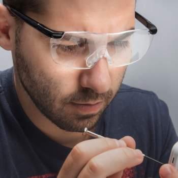 Ochelari mărire +60% ClearVision