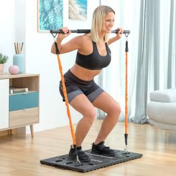 Sistem portabil complet de antrenament cu ghid de exerciții