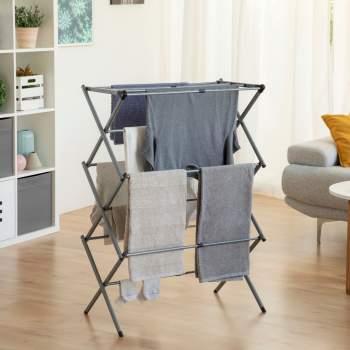 Uscător extensibil și pliabil din aluminiu Folding Clothes Rack