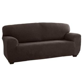Husă canapea 2 locuri EasyCover Elite, maro