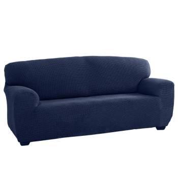 Husă canapea 2 locuri EasyCover Elite, albastru
