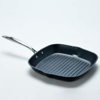 Tigaie grill profesionala, antiaderenta (28 cm)