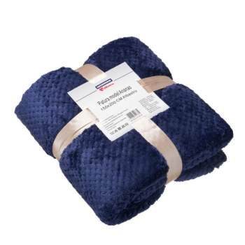 Pătură model ananas, 150x200 cm, culoare albastru, EasyComfort