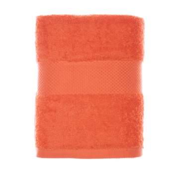 Prosop de baie 100% bumbac organic, 70x140 cm, portocaliu, EasyFresh