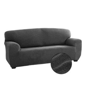 Husă canapea 2 locuri EasyCover Elite, gri închis