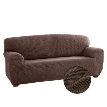 Husă canapea 2 locuri EasyCover Elite, cappuccino