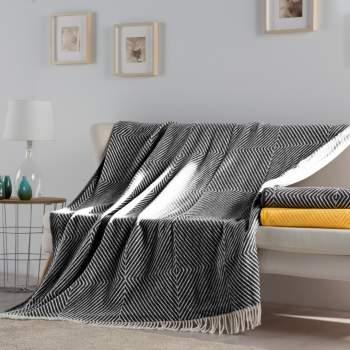 Pătură neagră, 180x240 cm EasyComfort