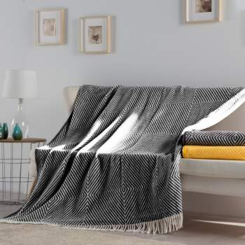 Pătură neagră, 240x240 cm EasyComfort