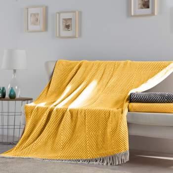Pătură galbenă, 240x240 cm, EasyComfort